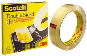 D6651233 - 3M Dubbelzijdige Tape Scotch 665 12mmx33m Transparant 1st