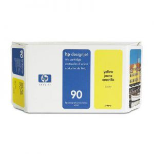 C5064A - HP Inkt Cartridge 90 Yellow 225ml