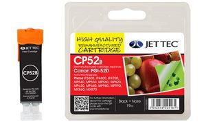 5222B005-J - JET TEC Inkt Cartridge Black 21ml 1st