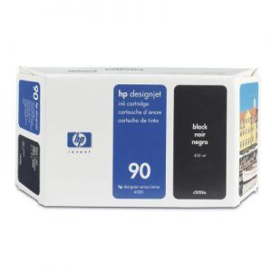 C5058A - HP Inkt Cartridge 90 Black 400ml