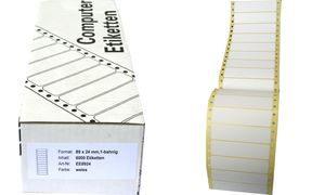 EE8936 - Kores Computeretiket 89x36mm 4.000st Wit 1 Pak