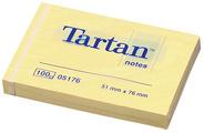 23079 - Tartan Post-It 76x76mm Fluor Geel 1st