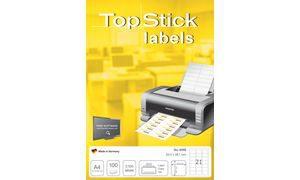 8720 - TOP STICK Universal Etiket Permanent 210x297mm 100st Wit 1 Pak