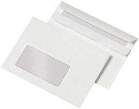 21186/0 - MAILmedia Venster Envelop C6 72gr Links Strip 1.000st