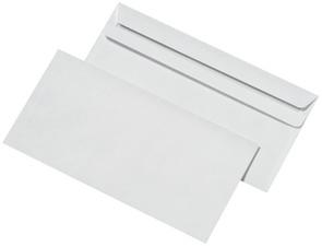 22144/0 - MAILmedia Envelop DIN Lang 75gr Strip 1.000st Wit