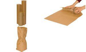 253101701 - Smartboxpro Afrol/Afscheurapparaat 50cmx250m Bruin Op Rol 1st