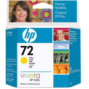 C9400A - HP Inkt Cartridge 72 Yellow 69ml