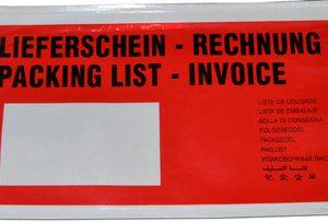 78910006 - dm-folien Paklijsten Envelop 225x122mm 250st