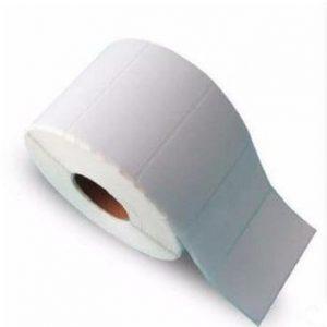 LL060X040000371 - LI-ME Etiket PTE (Papier Thermische Eco) Mat Permanent 60mm 40mm Wit 4.000st 76mm Kern 1Baans 2 Buiten 0° op Rol Perforatie