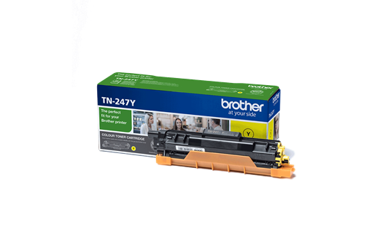 TN-247Y - Brother Toner Cartridge Yellow 2.300vel 1st