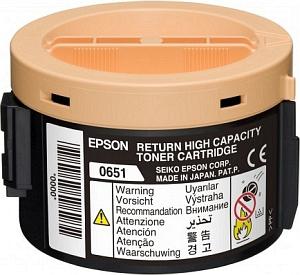 C13S050651 - EPSON Toner Cartridge Black 2.200vel 1st
