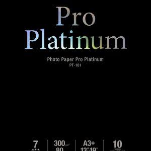 2768B018 - CANON INK Fotopapier Pro Platium A3 300g/m2 PT-101 10vel