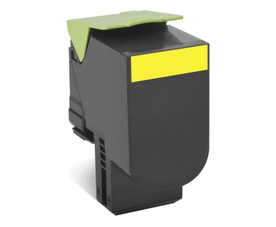 24B6010 - LEXMARK Toner Cartridge Yellow 3.000vel 1st
