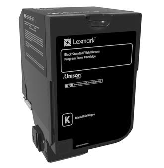 74C2SK0 - LEXMARK Toner Cartridge Black 7.000vel 1st