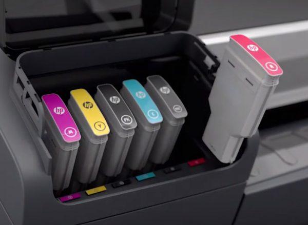 F9K03A - HP Inkt Cartridge 745 Cyaan 300ml 1st