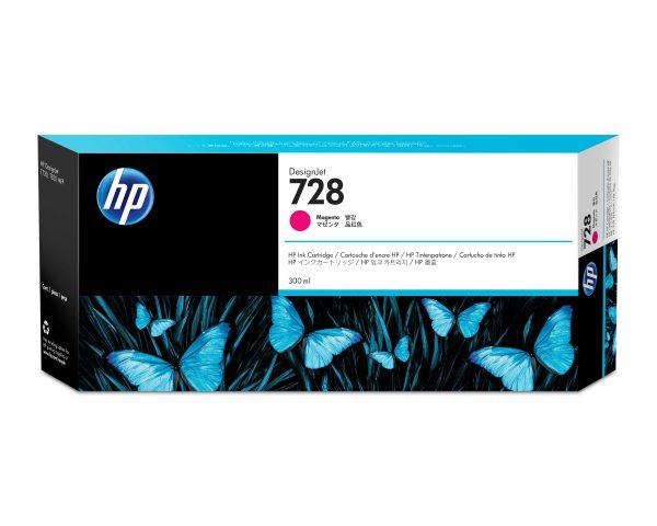 F9K16A - HP Inkt Cartridge 728 Magenta 300ml 1st