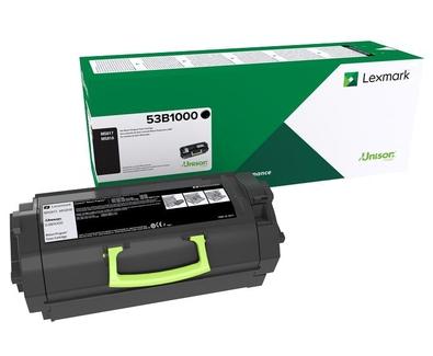 53B2000 - LEXMARK Toner Cartridge Black 11.000vel 1st