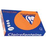 1205 - Clairfontaine Kopieerpapier A4 120g/m² Oranje 250vel