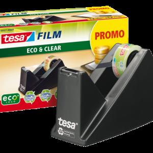 59327-00000-00 - TESA Plakbandhouder incl. Tape Promo Eco Zwart 1st