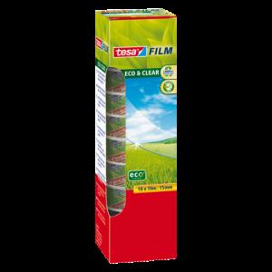 57070-00000-00 - TESA Plakband Eco&Clear 15mmx10m Transparant 10st