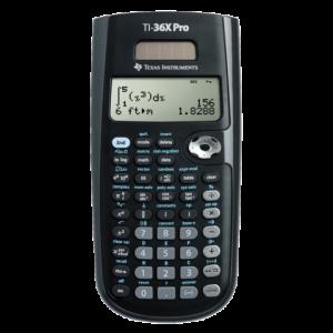 36XPRO/TBL/1E2/A - TI Calculator Wetenschappelijk Pro Multiview TI-36X Zwart