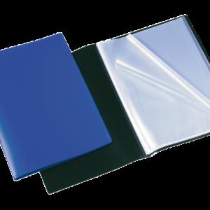 100206167 - ELBA Showmap Memphis 30-Tassen 0.35mm Donker Blauw A4