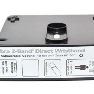 10006995K - ZEBRA Polsbandje 25mm 279mm Z-Band Wit 200st 6x 1Baans Cartridge