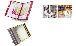434209 - Tarifold Tafelstandaard TDisplay Diverse Kleuren 20 Tassen A4