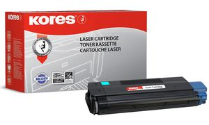 44973535-KO - Kores Toner Cartridge Cyaan 1.500vel 1st