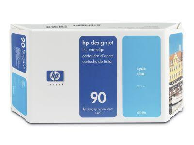 C5060A - HP Inkt Cartridge 90 Cyaan 225ml