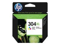 N9K07AE - HP Inkt Cartridge 304 Cyaan & Magenta & Yellow 7ml 1st