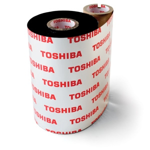 BX760102AS1 - TOSHIBA Ribbon Near Edge 102mm 600m OUT A-S1