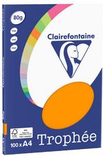 4100 - Clairfontaine Kopieerpapier A4 80g/m² Diverse Kleuren 100vel