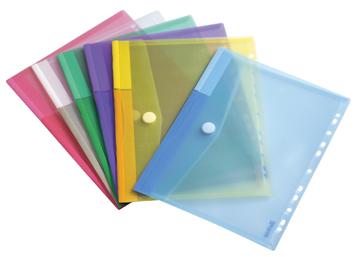 510230 - Tarifold Enveloptas 11-Gaats Diverse Kleuren 1st A4