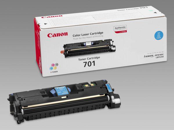 9286A003 - CANON Toner Cartridge 701 Cyaan 4.000vel 1st