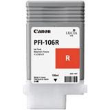 6627B001 - CANON Inkt Cartridge PFI-106R Red 130ml