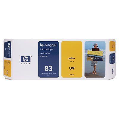 C4943A - HP Inkt Cartridge 83 Yellow 680ml