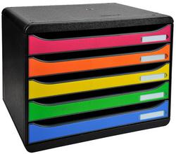 308798D - Exacompta Ladenblok BIG-BOX PLUS 6-Kleuren 5-Laden