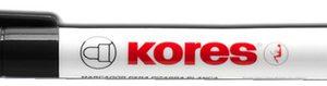 M20850 - Kores Whiteboard Marker 3-5mm Zwart 1st