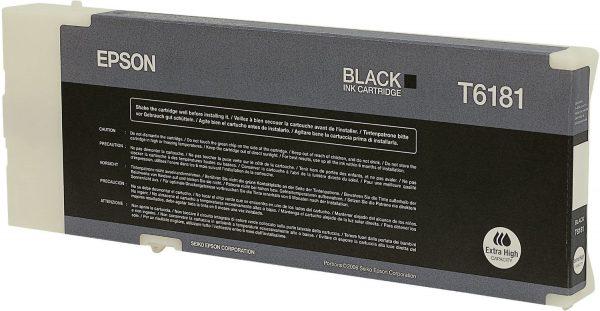C13T618100 - EPSON Inkt T6181 Black 198ml 1st