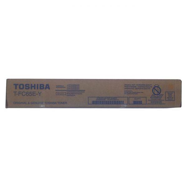 6AK00000185 - TOSHIBA Toner Yellow 29.500vel 1st