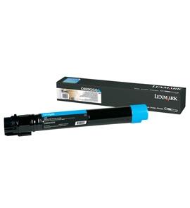 C950X2CG - LEXMARK Toner Cartridge Cyaan 24.000vel 1st