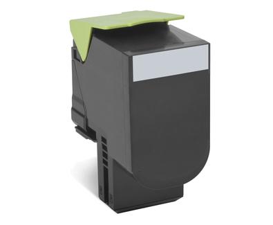 70C2XKE - LEXMARK Toner Cartridge Black 8.000vel 1st