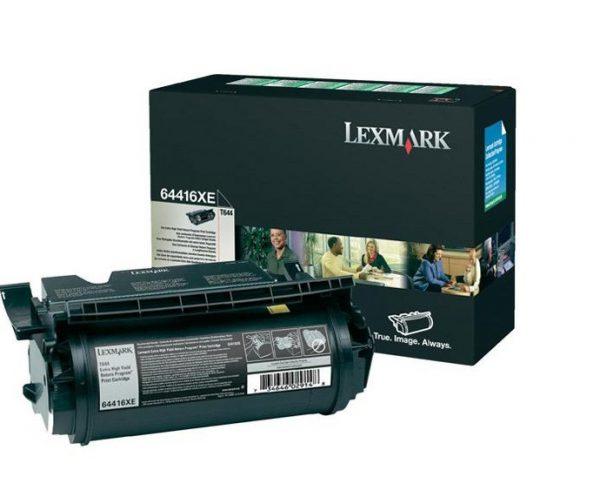64416XE - LEXMARK Toner Cartridge Black 32.000vel 1st
