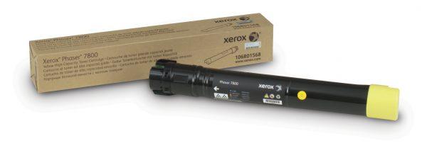106R01568 - Xerox Toner Cartridge Yellow 17.200vel 1st