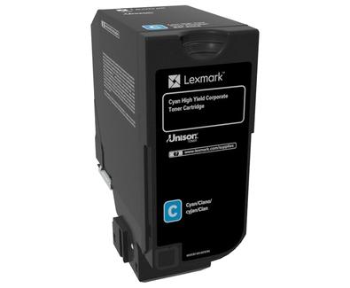 84C2HCE - LEXMARK Toner Cartridge Cyaan 16.000vel 1st