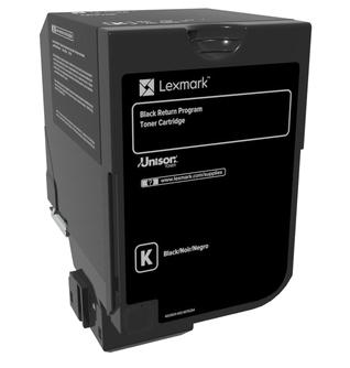 74C20K0 - LEXMARK Toner Black 3.000vel 1st