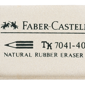 184140 - FABER CASTELL Gum FC 7041-40 Wit 1st