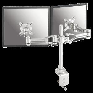 FPMA-D1030D - NEW Monitorarm 25-60cm 2 Schermen Zilver
