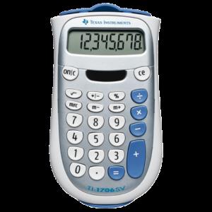TI-1706 SV - TI Calculator 1706 8-Cijfers